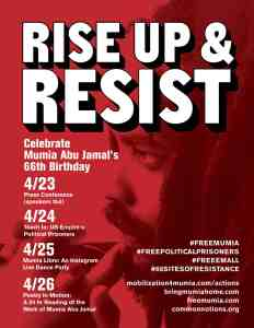 Mobilizing for Mumia Abu-Jamal's 66th Birthday in the Midst of COVID-19