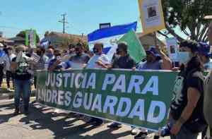 Outrage on the streets of Compton. 'Justice for Andrés Guardado!'