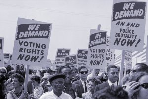 Black voter suppression near 1950s level