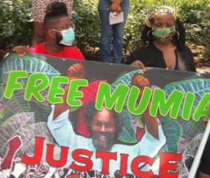 Philadelphia protest: Free Mumia! Free them all!