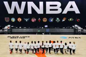NBA and WNBA players strike to demand justice for Jacob Blake