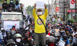 Protests in Indonesia fight to stop further exploitation of workers