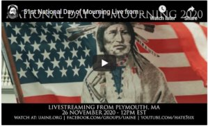 National Day of Mourning livestream