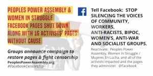 Censuras por Facebook