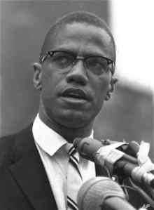 Fight like Malcolm X!