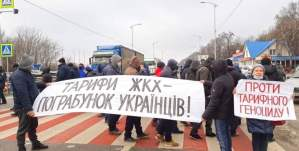 Ukraine: Workers protest utility price hikes demanded by U.S., IMF