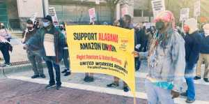 Baltimore supports Bessemer Amazon workers