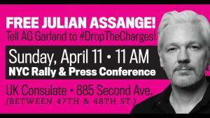 New York: Drop the Charges Against Julian Assange, April 11