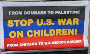 From Donbass to Chicago: Stop the U.S. war on children