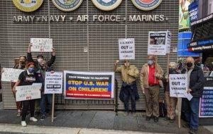 New York protest demands end to U.S.-Ukraine war in Donbass