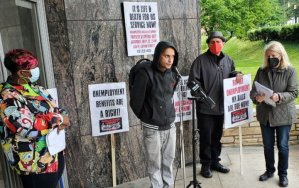 Baltimore: Unemployment benefits now! Speak out and picket line, May 22