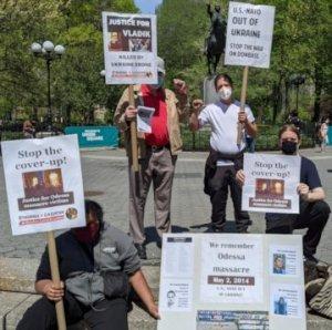 New York event honors anti-fascists killed in Odessa, Ukraine