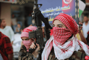 Men, women fighters, and Che Guevara banners: socialists of Gaza take center stage