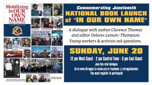 Book launch of 'Mobilizing In Our Own Name: Million Worker March'