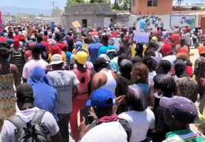 Haiti: After Delmas 32 massacre, a demonstration, accusations, and a riposte