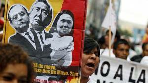 There's a dirty tricks campaign underway in Peru to deny the left's presidential victory