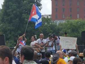 Watch: End the U.S. blockade of Cuba rally in Washington, July 25
