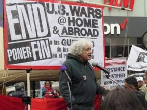 Solidarity with longtime anti-war activist Joe Lombardo!