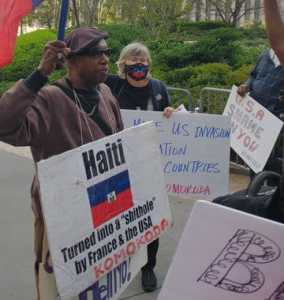 Haitian activists: 'Joe Biden, shame on you!'