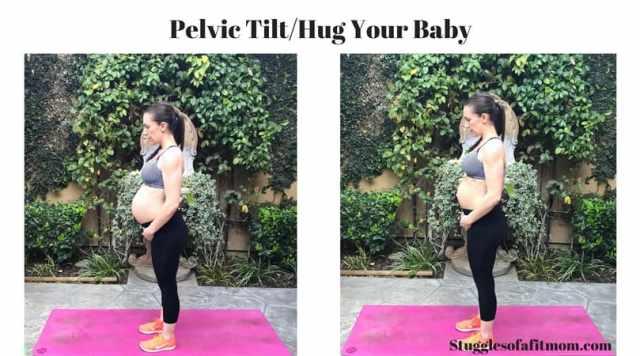 A few of my favorite prenatal core exercises: