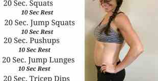 12 Minute Fat Burning Workout