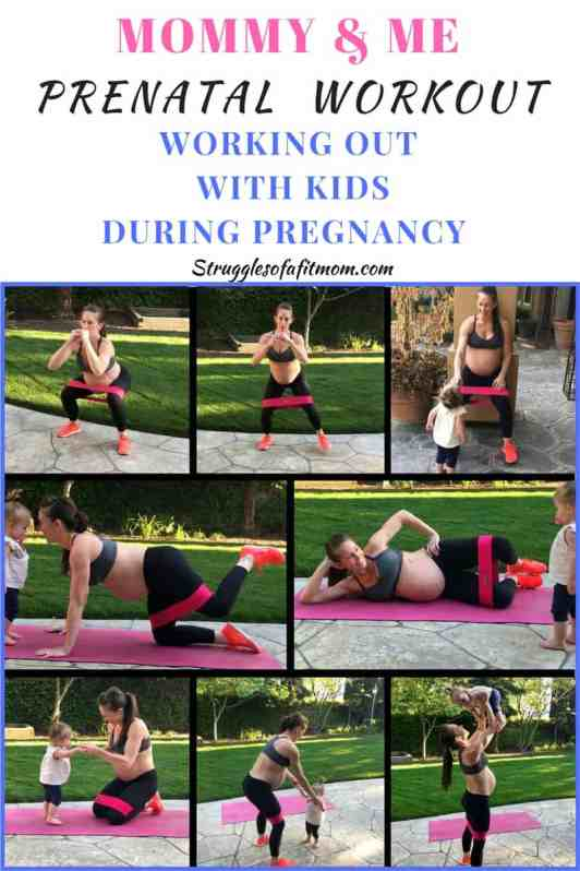 Mommy and me prenatal workout at home