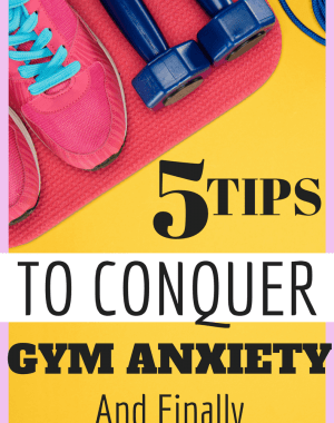 Conquer your fears of the gym and start losing weight