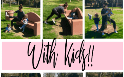 6 Outdoor No Excuse Full Body Toning Exercises with Kids