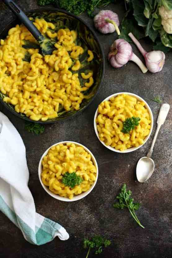 Vegan Mac and Cheese for picky toddlers