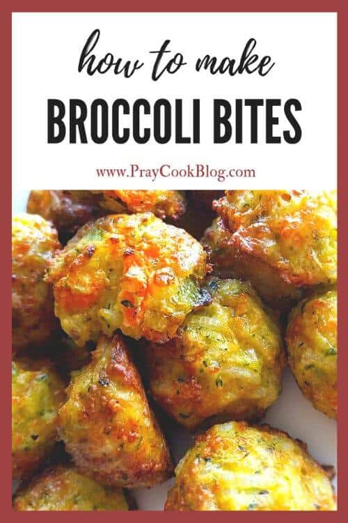 Broccoli bites for picky eaters