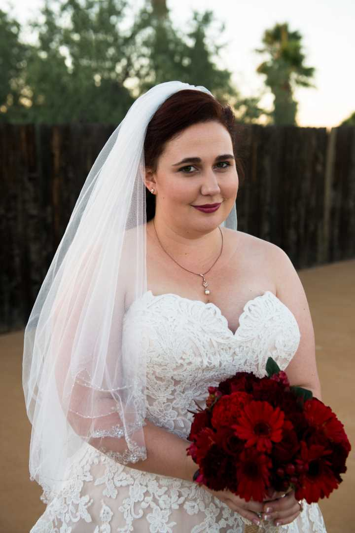 Sarahs Nuptials At Wild Horse Pass Strut Bridal Salon