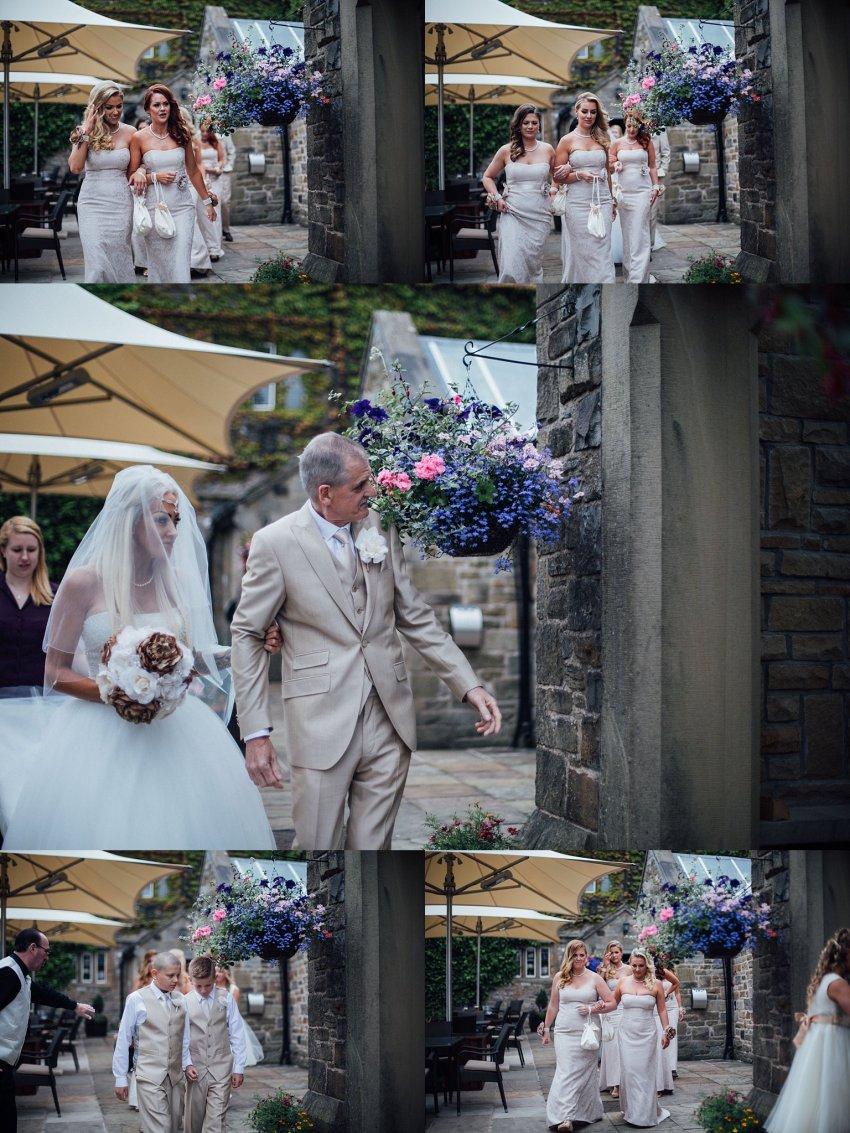 wedding start