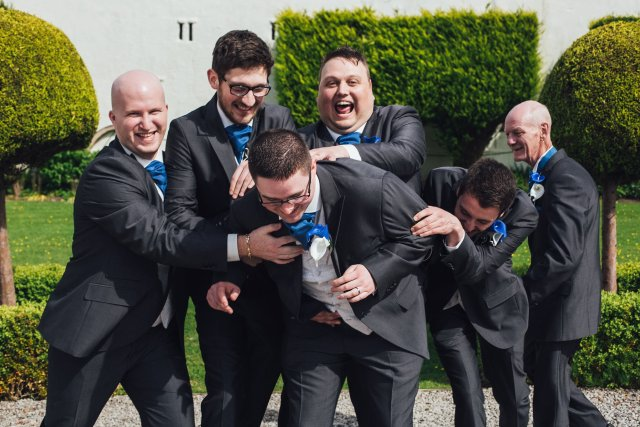 groom and groomsmen funny