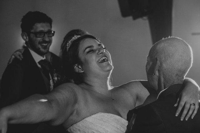 father daughter wedding dance fun