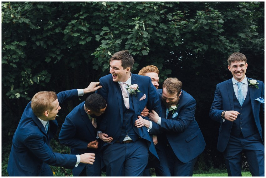 Groomsmen Wedding Photos