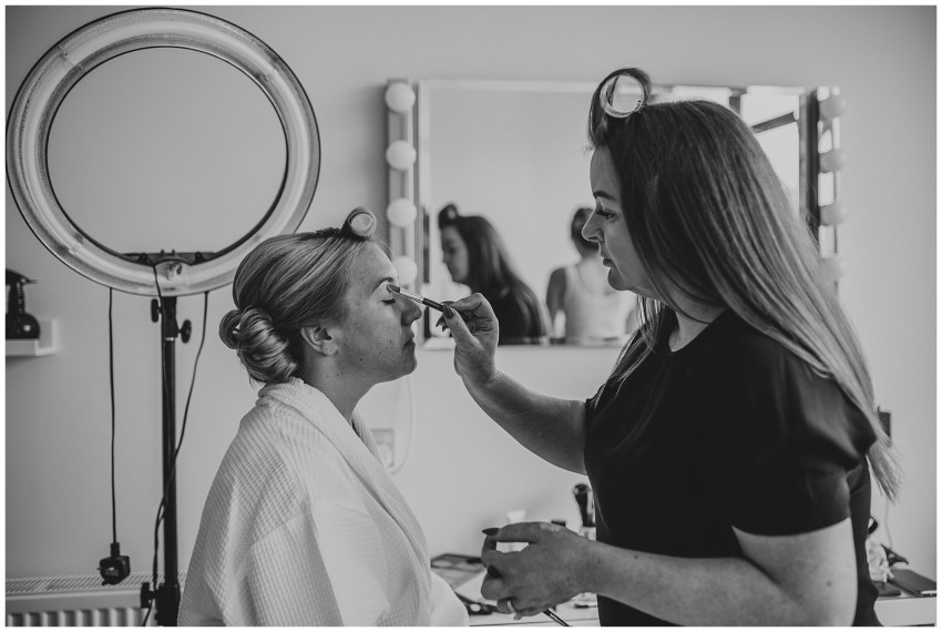 Warren Farm Wedding - Wedding Make up