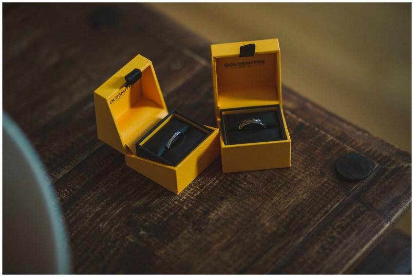 Warren Farm Wedding - Wedding Rings