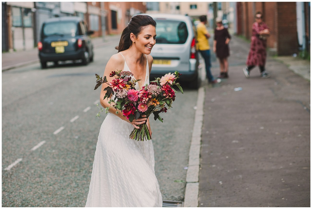 agnes and bee bridal bouquet
