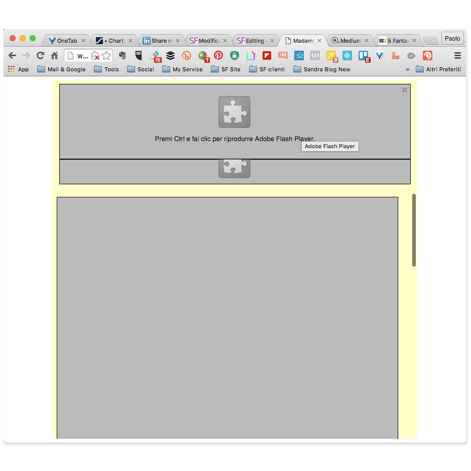 Adobe Flash finisce il supporto Google