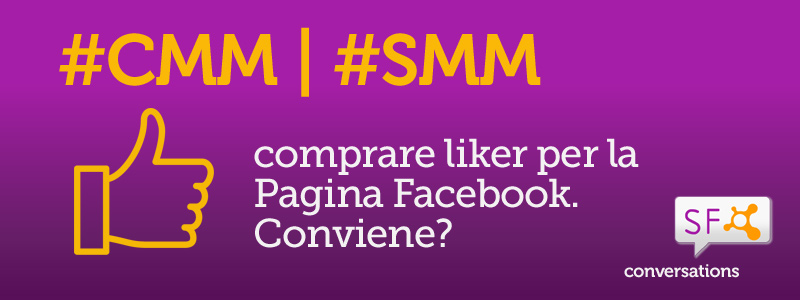 compra un po' di like per la Pagina Facebook - o no - blog post StrutturaFine