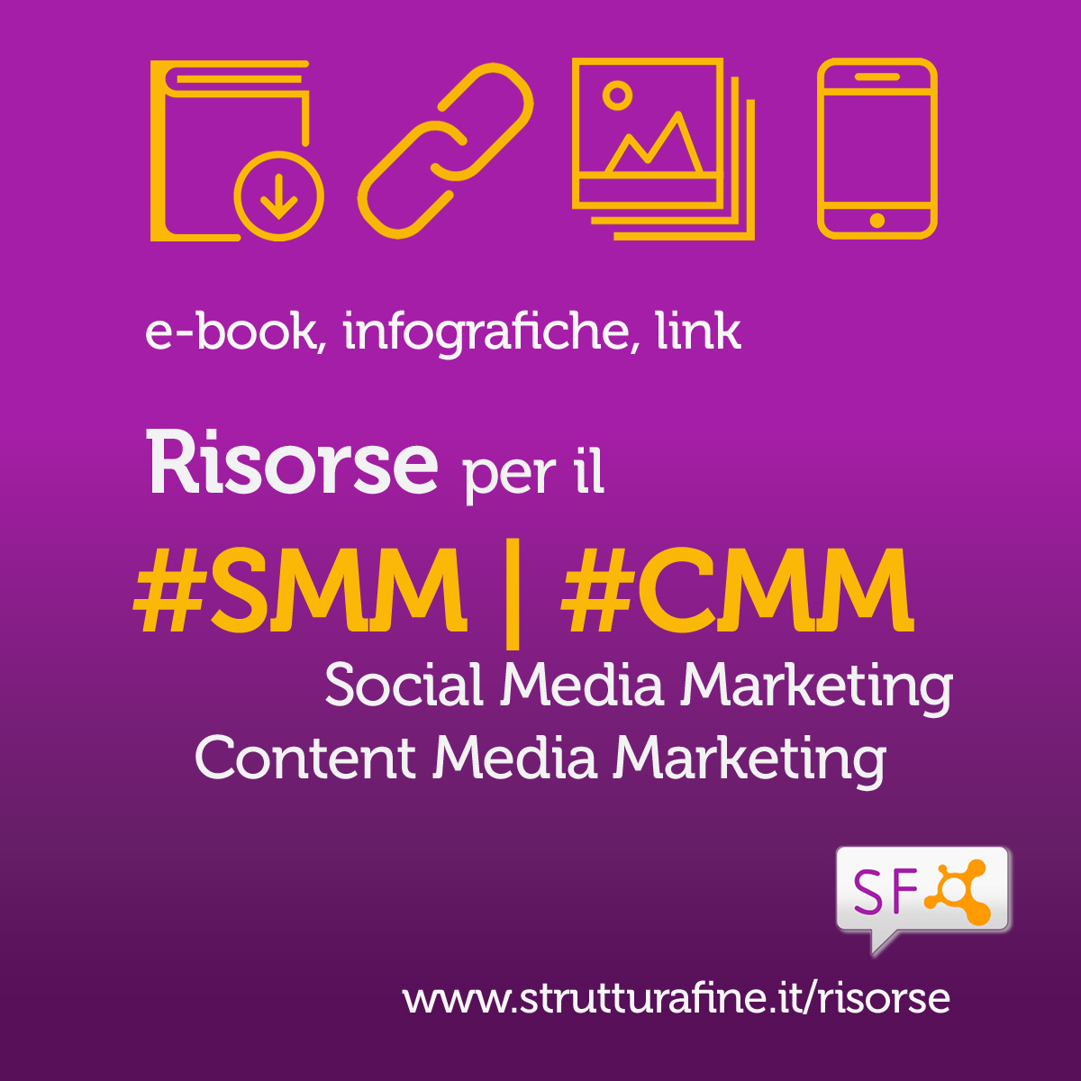 Risorse per il Social Media e Content Media Marketing | Strutturafine