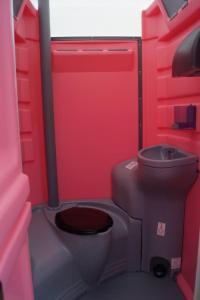 Innenraum Damentoilette