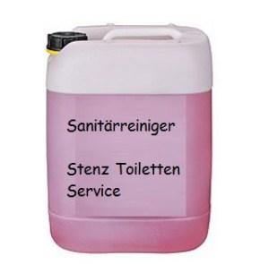 Sanitärreiniger_20 Liter Kanister (verschiedene Größen)