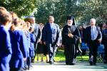 St Spyridon College celebrate the Foundation Blessing for the Sports and Performing Arts Centre