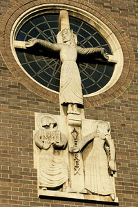 Calvary by Eric Gill