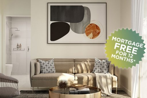Live 12 months mortgage free at V1 Apartments