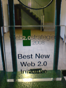 Best New Web 2.0 Initiative award
