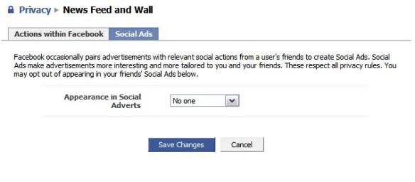 Facebook Social Ads Permissions