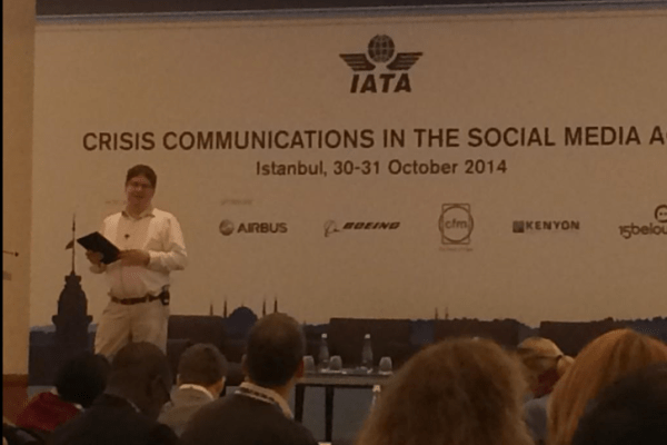 Future of PR and social media for International Air Transport Association crisis communications conference 1