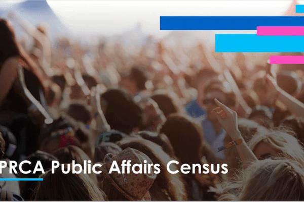 PRCA Public Affairs Census cover